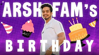 A.R.S.H.F.A.M. DAY! 🎂❤️    DAMNFAM
