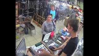 видео Кассир в магазине Перекресток (м.Динамо)
