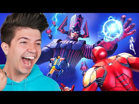 Fortnite GALACTUS Nexus War Season 5 Event! *insane*