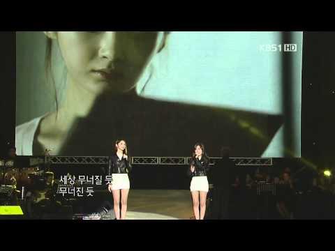 111030 - KBS Open Concert [Davichi- Don't Say Goodbye]