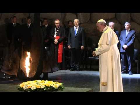 Pope Francis Visits Yad Vashem