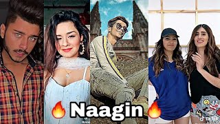 Download Tiktok 🔥Naagin🔥 New Trend |Latest Going Viral Trending Ft. Hardik, Avneet, Madboi37, Videos| Mp3 and Videos