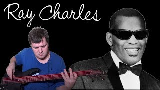 Hit The Road Jack (Ray Charles Piano, Guitar & Bass cover) with Ray Cherles vocals