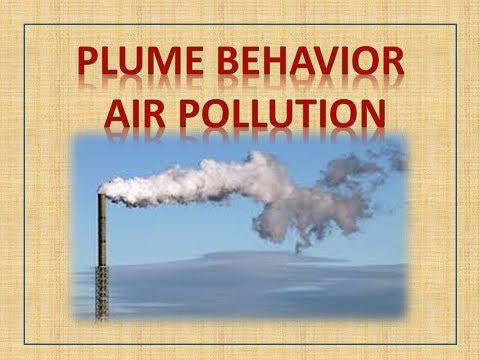 PLUME BEHAVIOR  - AIR POLLUTION