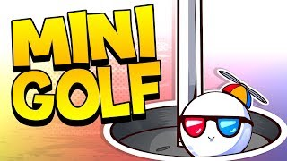 Happy Mini Golf Accidents! - Golf it (Funny Moments)