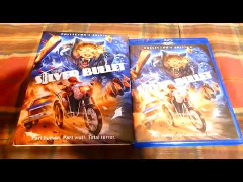 Download Silver Bullet Collector's Edition Blu-ray from Scream Factory Unboxing