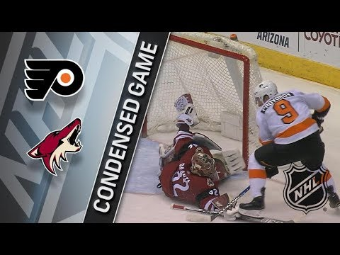 Philadelphia Flyers vs Arizona Coyotes – Feb. 10, 2018 | Game Highlights | NHL 2017/18. Обзор