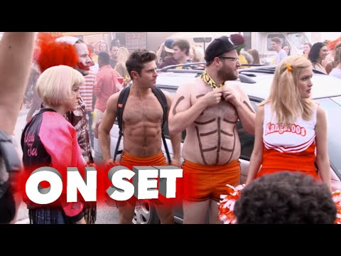 Neighbors 2:  Sorority Rising: Behind the Scenes Broll Exclusive Movie Featurette - Zac Efron
