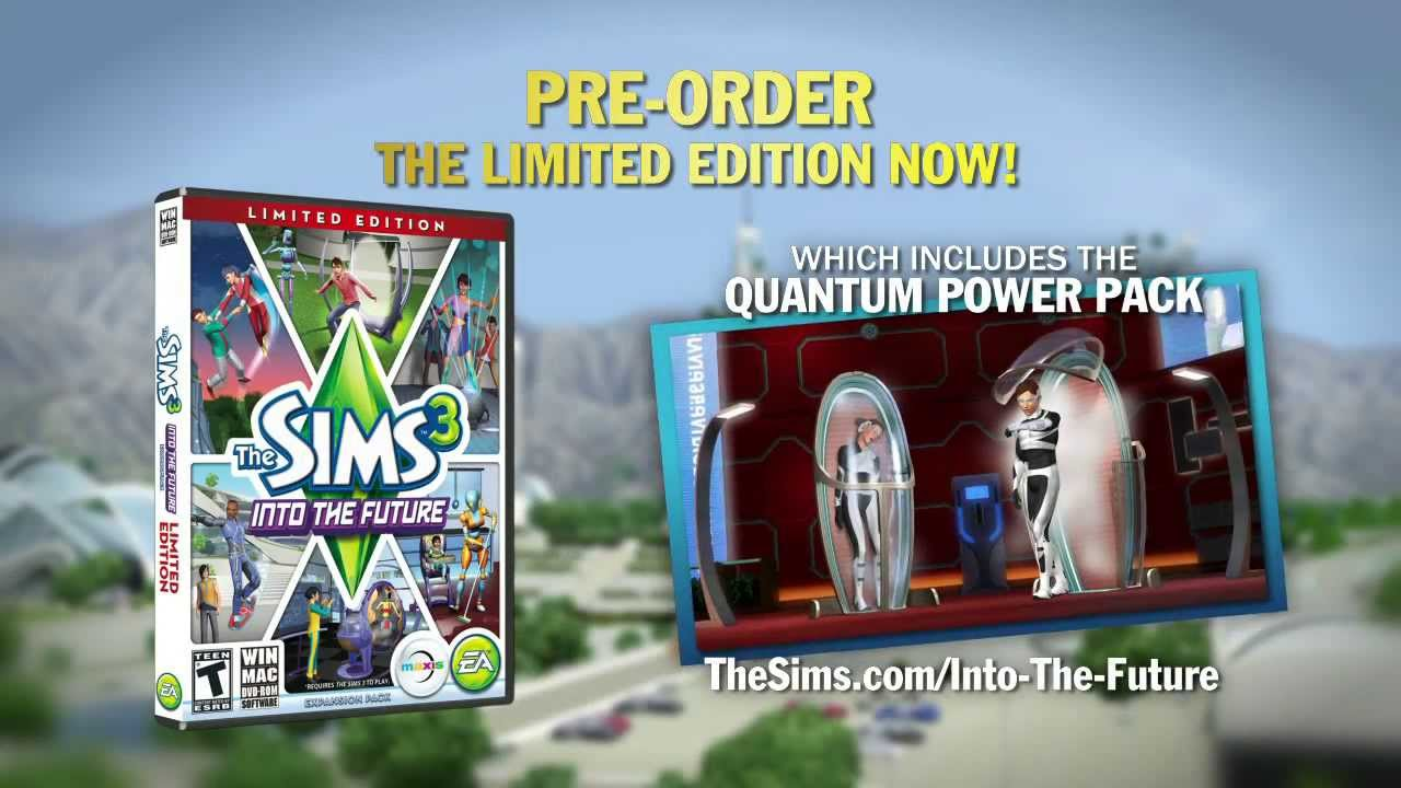 sims 3 into the future how to get all sprites
