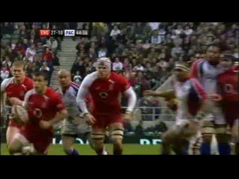 England v Pacific Islanders