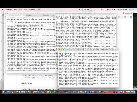 Kafka Multi-node cluster