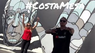COSTA MESA TOUR and VLOG - WHAT to EAT and DO in OC