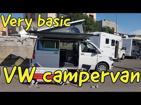 VW Multi Van camper review
