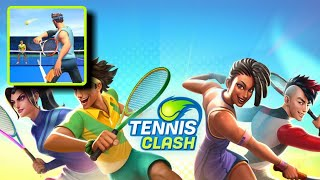 Tennis Clash: 1v1 Free Online Sports Game - Games Online Android & iOS | Gameplay 1080p 60fps
