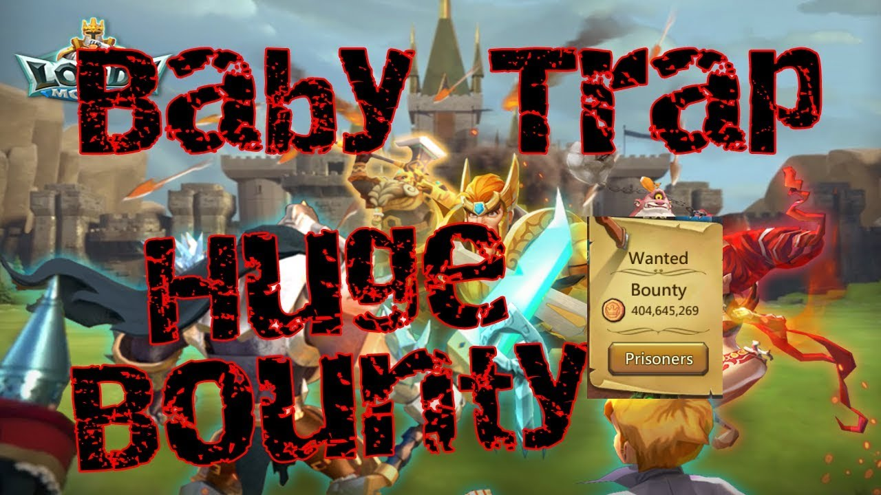 Baby Trap with 160m BOUNTY!!! Part 2