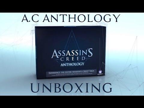 Unboxing   Assassin's Creed Anthology (Xbox360) - YouTube