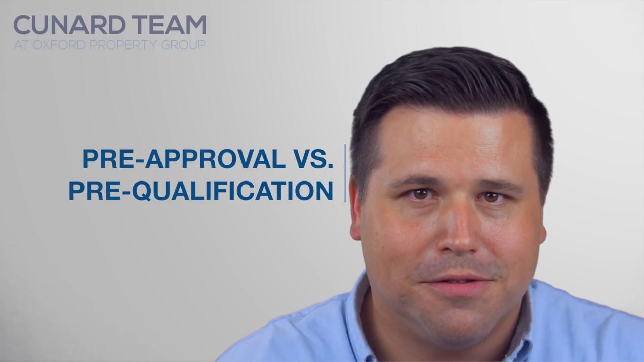 Pre Approval Vs Pre Qualification