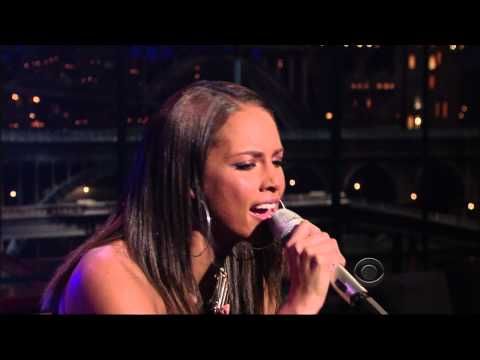 Alicia Keys  Try Sleeping With A Broken Heart  Late Show With David Letterman