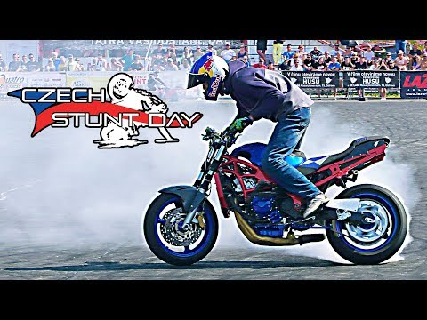Marvel Stunt Riding Mike Jensen Czech Stunt Day