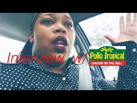 Pollo Tropical Interview || Life Of A Mother Of 6||