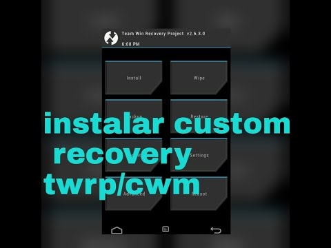 LG G Pro Lite Instalar recovery Twrp o Cwm