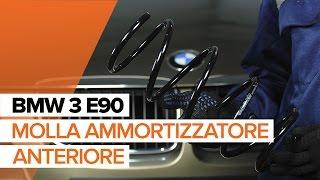 Sostituzione Molle ammortizzatori BMW 3 SERIES: manuale tecnico d'officina