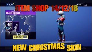 QUANTO *COSTA* IL MIO ARMADIETTO ?! (New Skin *SNOWMAN*) FORTNITE BATTLE ROYALE ITEM SHOP 14/12/18