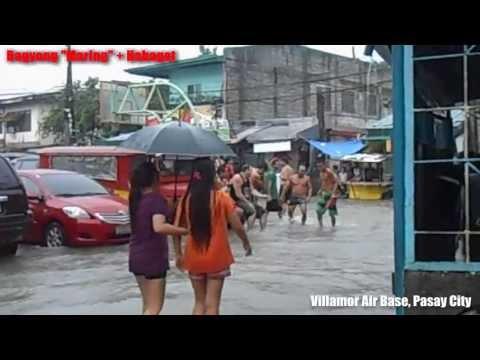 Maring + Habagat 8 20 13 Villamor Air Base, Pasay City