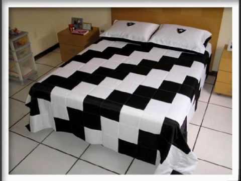 Patchwork pent gono designer youtube - Como hacer colchas de patchwork ...