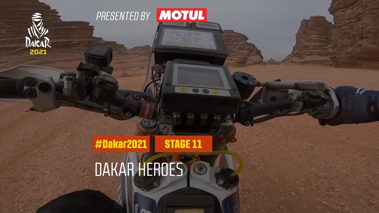 #DAKAR2021 - Stage 11 - Dakar Heroes