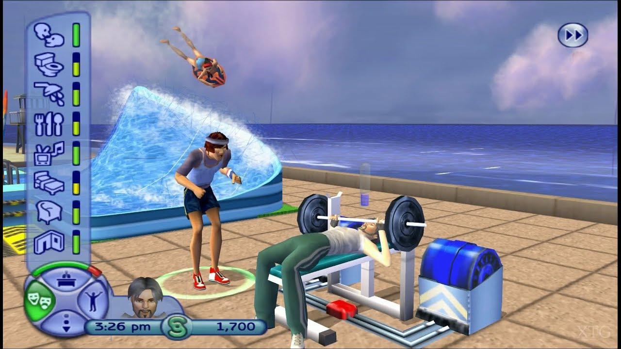 playstation 2 games sims