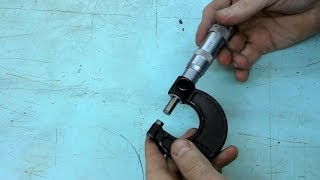 Як налаштувати і перевірити мікрометр.