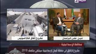 بالفيديو.. محافظ الإسماعيلية: مشروع أنفاق شرق القناة لا يقل عن قناة السويس الجديدة