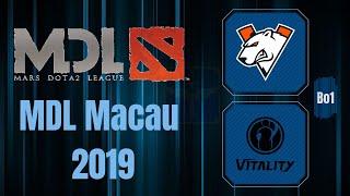 Virtus.Pro vs IG / Comeback / Bo1 / MDL Macau 2019 / Dota 2 Live