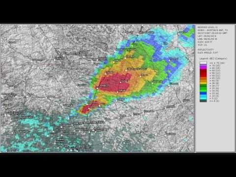 Jarrell Texas F Tornado May Doppler Radar YouTube - South texas doppler radar