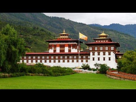 Tashichho Dzong in Thimphu : Bhutan
