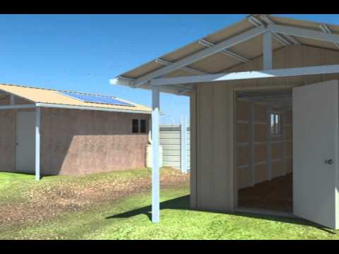 Low Income Housing for third world countries and disaster releif