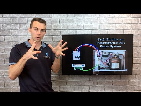 VRI Fault Find An Instantaneous Hot Water System