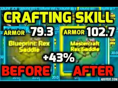 New crafting skill explained and tested on rex blueprint official new crafting skill explained and tested on rex blueprint official server malvernweather Images