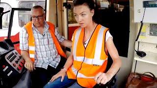 Поезда, паровозы, трамваи | Дай порулить! с Александрой Говорченко