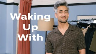 Tan France Shares His Five-Minute Tutorial for Camera-Ready Hair | Waking Up With | ELLE