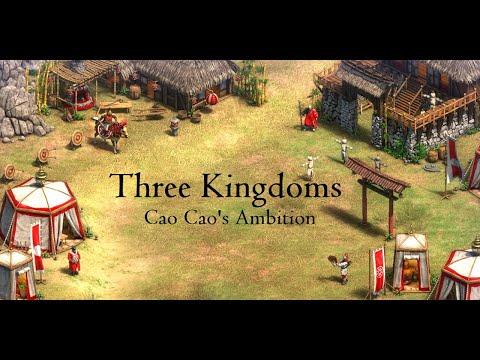 Three Kingdoms - Cao Cao's Ambition (HARD) Age Of Empires II: Definitive Edition [AoE2DE]