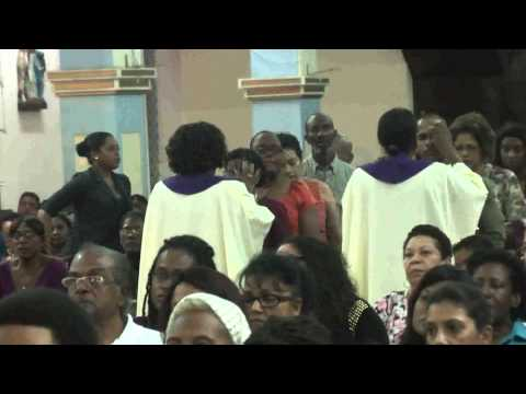 Ash Wednesday PM Mass at OLPH RC Church San Fernando, Trinidad & Tobago
