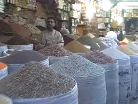 The spice market - Sana'a, Yemen
