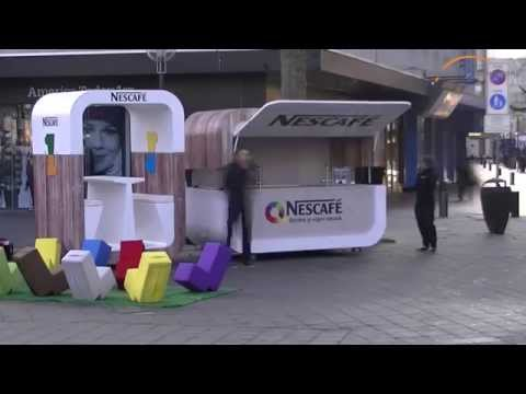 Nescafé wet sampling tour