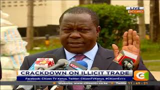 Fred Matiang'i: It's going to be tough and rough but we are ready to go all the way #CitizenExtra