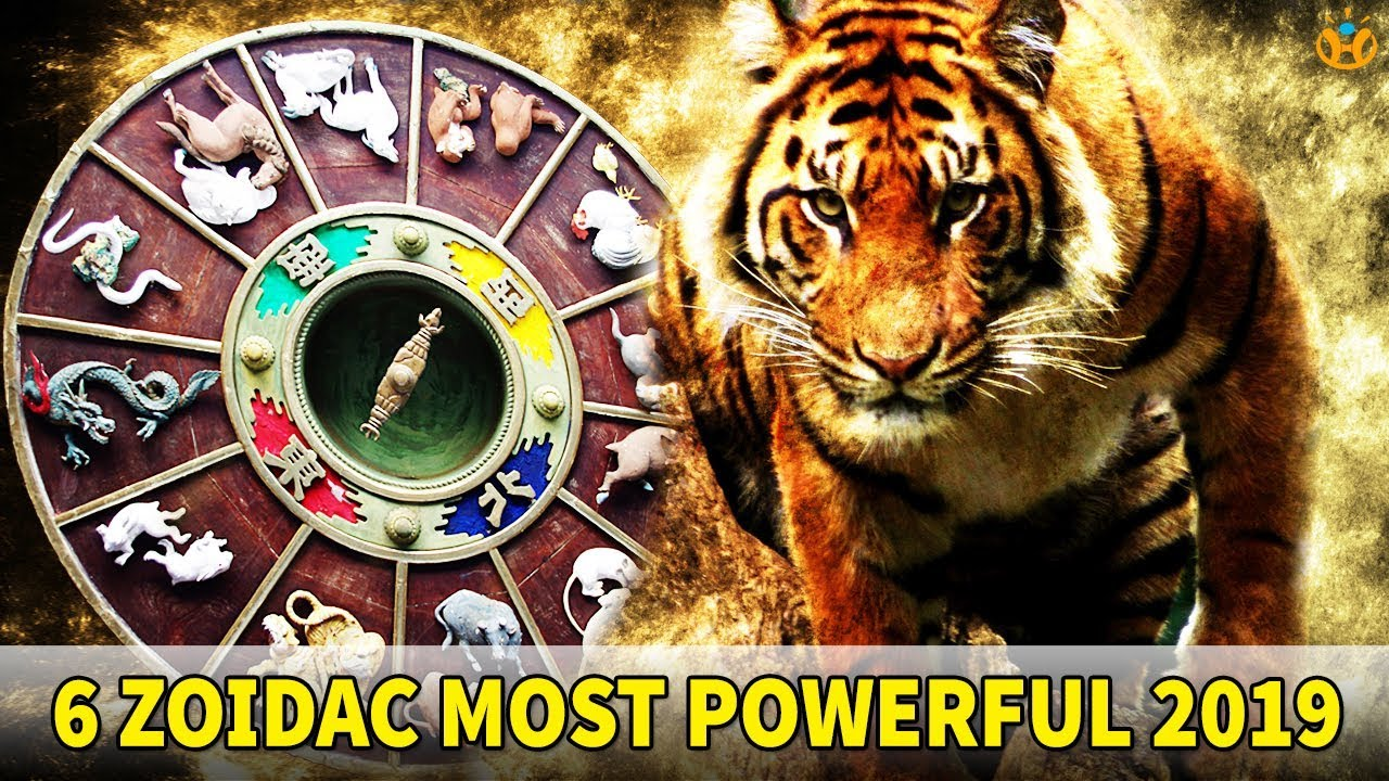Sign zodiac most powerful The 5