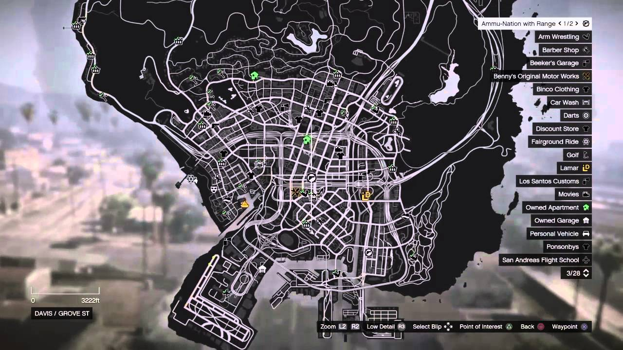 Gta V Cj House Map Images Galleries