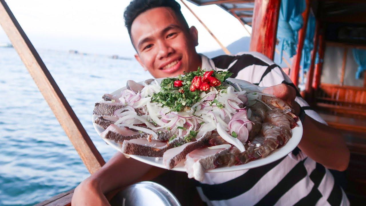 Ăn Gỏi CÁ SỐNG ở Phú Quốc • TẬP 2 • Du Lịch Phú Quốc