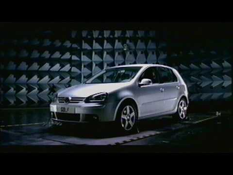 VW New Golf 60 sec TV AD 2004